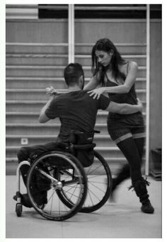 Love this... Reminds me always of how much it is so important and I hope everyone's heart will be to weither u  can walk or not... Reminds me of the story my cholo told me the used to go dance and one guy was in a wheelchair and he was just getting down a really cool moves had lost his legs so he started teaching him how to dance really bad ass hip hop stuff really cool lessons can be learned from everyone no matter what disabilities you must have never judge