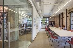 Take a tour of the SWA Group office in San Francisco, browse SWA Group office photos, and learn more about how the SWA Group office was created. Space, Glass, Wall, Modern, Room, Conference, Furniture, San Francisco, Design