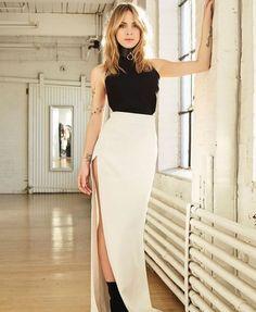 Marie-Mai retrouve Marie-Élaine Thibert à Nashville - Rythme FM Ootd, Style Challenge, Parfait, Lady, Nashville, High Waisted Skirt, Mini Skirts, Cosplay, Lingerie