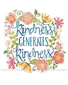 """@paulatooths: Kindness generates kindness. #BLOOM "" http://www.goto.gg/17835"