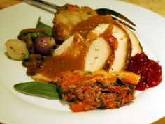 plate of t-day food
