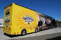 Transporter, Twisted Tea, Petty, NASCAR, Hauler, Kenworth