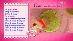 La ricetta della torta arcobaleno di Ambra Romani del 13 ottobre 2014 - Dolci dopo il tiggì