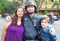 Slaughter: 13-year-old Marcelo Pesseghini with his police officer parents Luiz and Andreia, who he shot dead in the early hours of Monday morning before setting off to school. *how well do we really know the people we love?