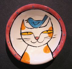 Cat bowl | Flickr - Photo Sharing!