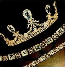The Hesse Aquamarine Tiara. Faberge.