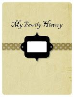 great free pdf download of a family history booklet for FHE