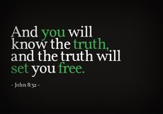 truth will set you free bible verse