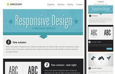 Here is Free Responsive Email Templates for you. Free Responsive Email Templates 31 ready to use free responsive email Free Email Newsletter Templates, Template Free, Email Template Design, Email Newsletters, Email Design, Layout Template, Free Email Marketing, Digital Marketing, Email Layout