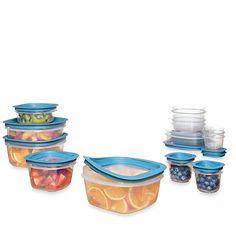 Rubbermaid® Flex & Seal™ 26-Piece Food Storage Set with Easy Find Lids - BedBathandBeyond.com