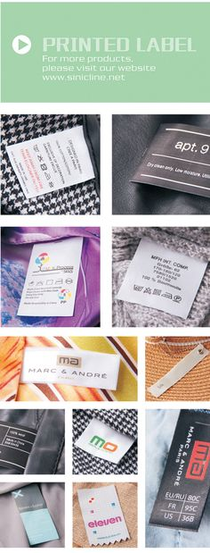 Sinicline is a professional printed ribbon, printed labels manufacturer in China.Sinicline supply you with excellent printed ribbon, printed labels pr Fabric Labels, Printed Ribbon, Clothing Labels, Printing Labels, Ribbons, Tags, Prints, Fabric Tags, Clothing Tags