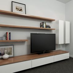Opt for 'floating' furniture design such as shelving, entertainment units and bedside tables or furniture with legs so that it is raised off the floor. Description from pinterest.com. I searched for this on bing.com/images