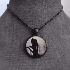 Nosferatu's Shadow Necklace - Build Your Empire Clothing Co | Nu goth & Alternative Apparel - 2
