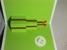 Popup Karte Geschenke Stapel  Einfach selbstgemachte Karte geeignet für Jungs ;)