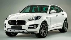 Maserati Kubang .. YEEAAH Porsche Cayenne Turbo S is getting it's ass KICKED .. Right?!