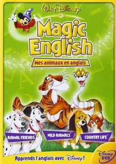 Magic English - Vol.2 : Mes animaux en anglais: Amazon.co.uk: DVD & Blu-ray