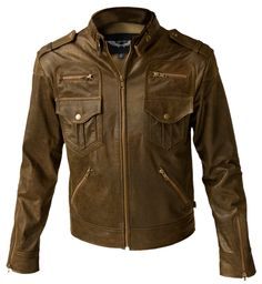 Owen distressed leather
