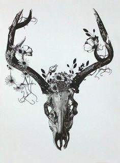 Resultado de imagen para imagenes de tattoos de venados tumblr