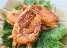 banh tom - sweet potato shrimp fritters