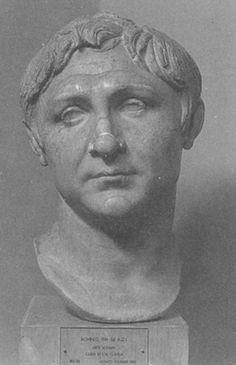 Gnaeus Pompeius Magnus, usually known in English as Pompey or Pompey the Great. He was part of Triumvirate with Gaius Julius Caesar and Marcus Licinius Crassus.