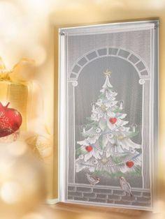 fl chenvorhang nicht nur f r die weihnachtszeit. Black Bedroom Furniture Sets. Home Design Ideas