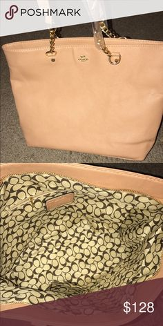 Coach purse Nude/Pink Coach purse; never used Coach Other