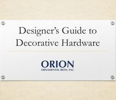 Our recent webinar,Designer's Guide to Drapery Hardware, in video format. Check it out. http://youtu.be/6o4J8dp4uI8