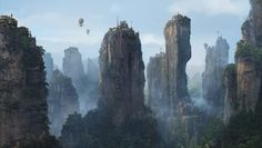 ArtStation - Mountain village., Sergey Vasnev