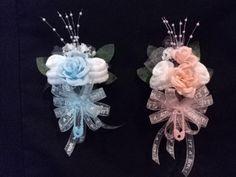 It's A Girl Boy Baby Sock Rose Corsage Baby Shower Gift   eBay