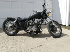 '73 Honda CB750 chopper Chopped,Stretched,Raked,Lowered and Konged by Ron Rinas
