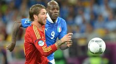 Faultless Ramos the star of Spain's showcase
