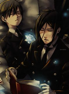 """"""" I used to think that 100 years have passed in a flash"""" """"But it seems that one day .... it's endless"""" """"All .... it's like a snow .... disappears before enjoying"""" """"I am a demon ... Solitaire."""" - Sebastian Michaelis ♞"""