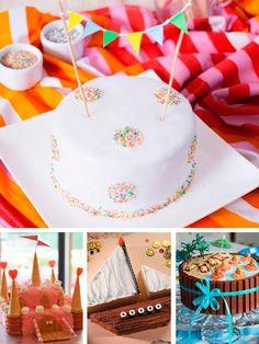15 tartas de cumpleaños fáciles y originales. Cómo hacer tartas de cumpleaños fáciles: tartas fáciles con números, con fondant, ¡y mucho más!