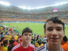 Estadio full!