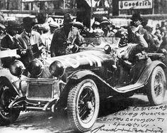 Tazio Nuvolari & Giambattista Guidotti Winner Millemiglia 1930, ALFA ROMEO 6C 1750
