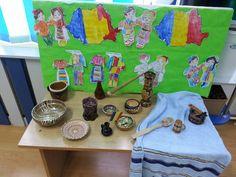 1 Decembrie, Diy And Crafts, December, Classroom, Painting, Folklore, Class Room, Painting Art, Paintings