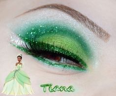 MAKE UP Tiana Disney