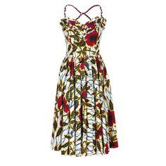 Gazelle Dress hibiscus - Dresses - Outlet - Online Shop - Lena Hoschek Online Shop