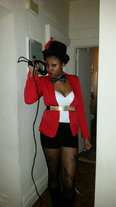 My DIY Ringmaster costume for Halloween.  sc 1 st  Pinterest & DIY Ringmaster | Pinterest | Wren Costumes and Polyvore