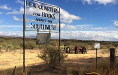 Arizona bookshop -- Singing Wind Bookstore, Benson, Arizona - Winifred Bundy has been selling books here for 40 years. It's a little tricky to find, situated on a working cattle farm four miles from the nearest town. Oxford Student, Floating Books, Film Story, Cattle Farming, Light Of Life, Weird And Wonderful, Used Books, The Guardian, Book Worms
