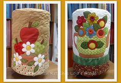 Ejemplos de patchword de la web Patch Quilt, Mini Quilts, Sewing Art, Sewing Patterns, Fabric Art, Fabric Crafts, Peg Bag, Cute Aprons, Sewing Baskets