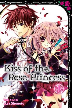 kiss of the rose princess manga volume 1 love this manga