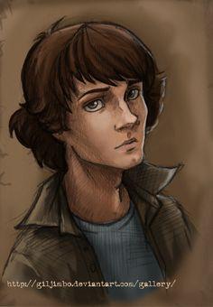 Sam Winchester by GilJimbo.deviantart.com on @deviantART I am in love with this artist.