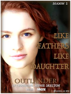 After an exhaustive search for the perfect Brianna Randall Fraser, Outlander Starz has cast twenty-something, English beauty Sophie Skelton. Let's all give the adorable brunette-turned-redhea…