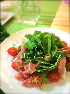 生ハムとルッコラのサラダ by crazy life [クックパッド] 簡単おいしい ...