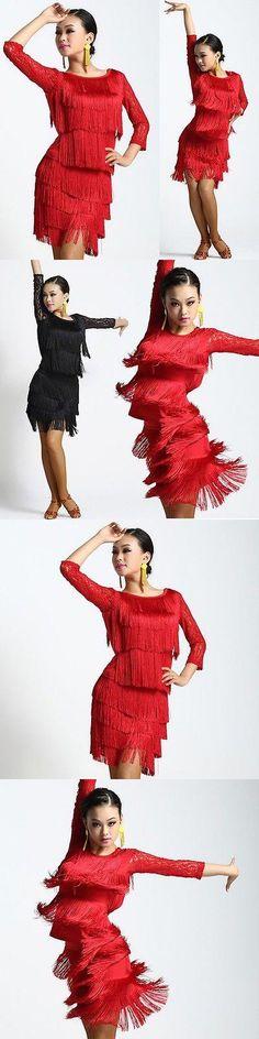 Dancewear: Womens Latin Dance Competition Dress Suits Rumba Samba Cha Cha Cowboy Ballroom BUY IT NOW ONLY: $62.99 #priceabateDancewear OR #priceabate