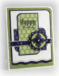 Happy Birthday Card - Love the layout
