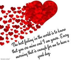 Best Good Morning Wishes For Girlfriend - Page 4 of 13 Good morning love messages for girlfriend. Morning Wishes For Her, Flirty Good Morning Quotes, Romantic Good Morning Messages, Good Morning Love Messages, Love You Messages, Morning Greetings Quotes, Morning Inspirational Quotes, Romantic Texts, Romantic Poems