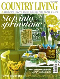 Country Living March 2014 cover countryliving.co.uk