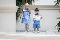 My traditional sailor dress is a perfect for a Spring flower girl dress or an adorable Easter outfit! It is made from beautifully soft linen in a light power blue and its fully lined in cotton lawn. But can be made in Cotton. I have designed these nautical outfits with a nod to vintage English designs and royal babies. A modern heirloom piece to passed down baby to baby. This sweet summer dress features a beautiful sailor collar finished with white cotton ribbon. It has a gathered drop…